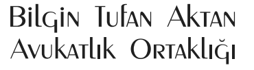 Bilgin Tufan Aktan Logo